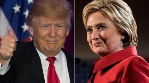 Donald v Hillary