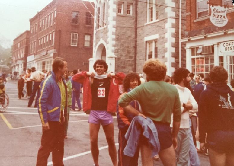 Litchfield fun with Bob Bright, Todd Miller, Sue Lupica & John Theriault (beard)