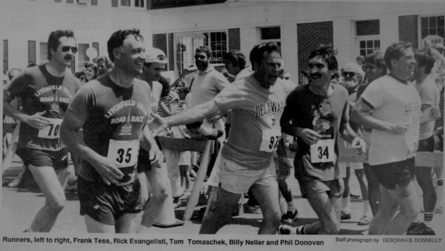 Even race directors and co-founders ran in the early days