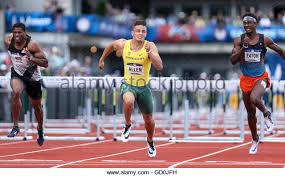 Devon Allen takes Trials title in 110m hurdles