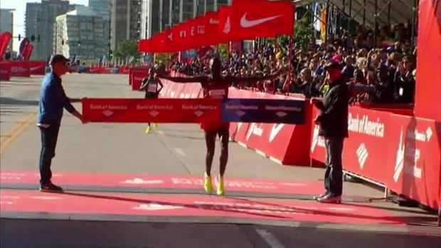 Abel Kirui over Dickson Chumba in Chicago 2016