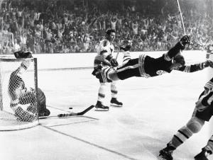 Bobby Orr's 1970 Stanley Cup winner