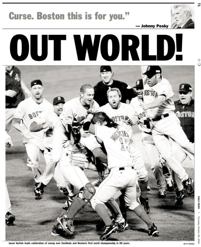 Red Sox End Curse